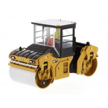 Diecast Masters 85595 - Caterpillar CAT CB-13 Tandem Vibratory Roller with Cab - Scale 1:50