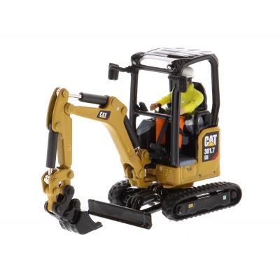 Diecast Masters 85597 - Caterpillar CAT 301.7 Next Gen Mini Hydraulic Excavator - High Line - Scale 1:50