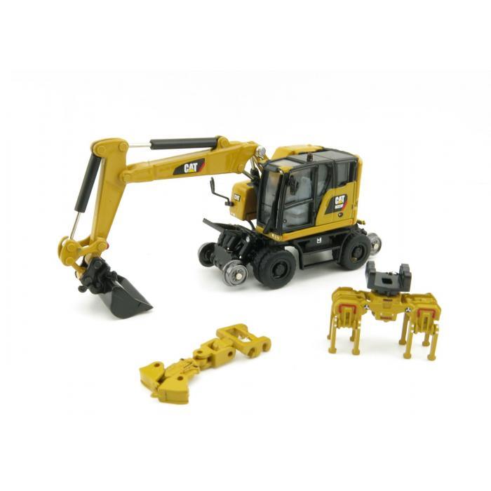 Cat Diecast M323F Railroad Wheeled Excavator 85656 1:87 scale