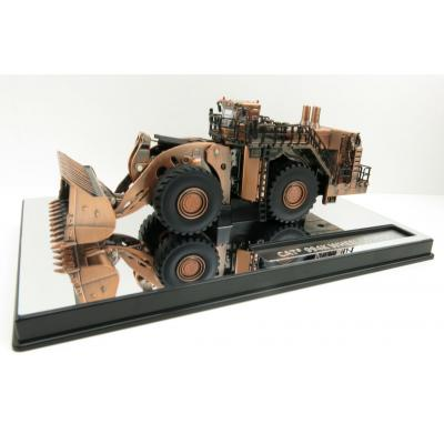 Diecast Masters 85672 - Caterpillar Cat 994K Mining Wheel Loader Copper Finish Special Elite Series New 2021 - Scale 1:125