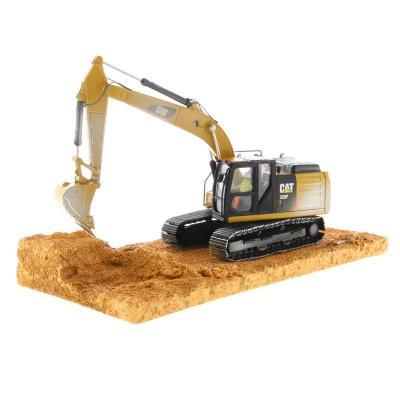 Diecast Masters 85701 - Caterpillar Cat Diecast Weathered 320F L Excavator - Scale 1:50