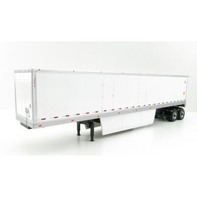 Diecast Masters 91021 - US 53' Dry Cargo Van Trailer White - Scale 1:50
