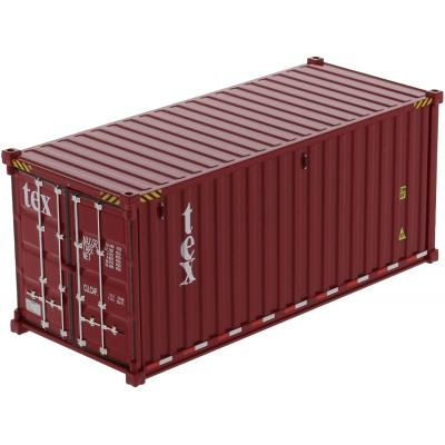 Diecast Masters 91025A - 20 ft Dry Sea Shipping Container TEX - Scale 1:50