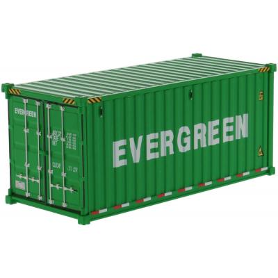 Diecast Masters 91025D - 20 ft Dry Sea Shipping Container EverGreen - Scale 1:50