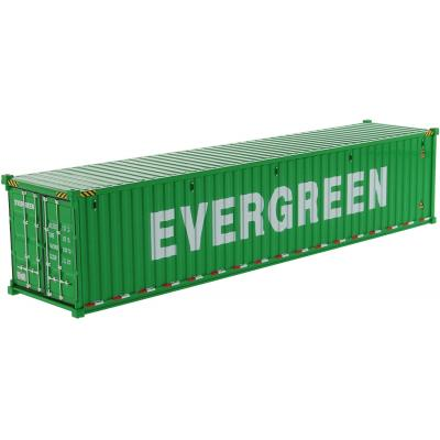 Diecast Masters 91027D - 40 ft Dry Sea Shipping Container EverGreen - Scale 1:50