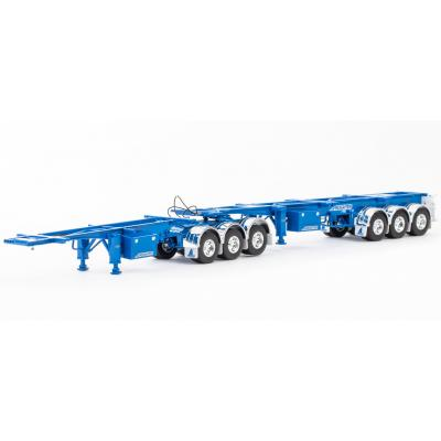 Drake ZT09155 AUSTRALIAN Maxitrans Skel B Double Trailer Combination Blue - Scale 1:50