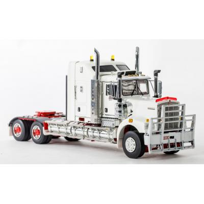 Drake Z01433 AUSTRALIAN KENWORTH C509 SLEEPER PRIME MOVER TRUCK WHITE New Version - Scale 1:50