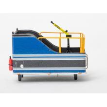 Drake Z0B013 AUSTRALIAN BALLAST BOX Blue Grey Metallic DIECAST - Scale 1:50