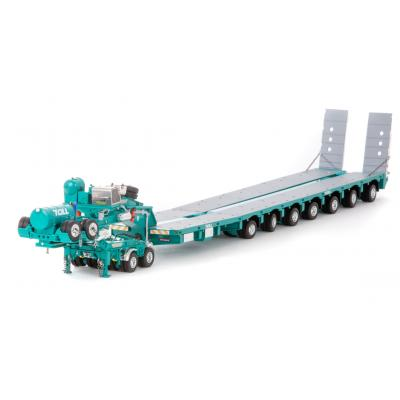 Drake ZT09218 AUSTRALIAN Heavy Haulage Drake 7x8 Steerable Trailer with 2x8 Dolly Toll - Scale 1:50