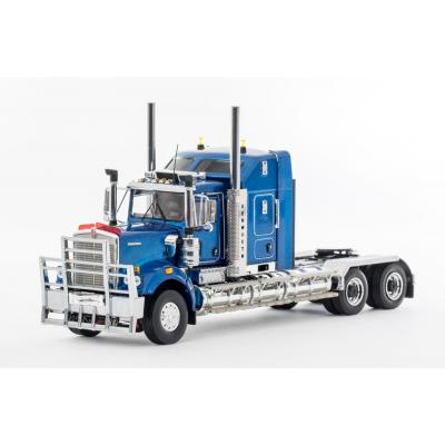Drake Collectibles Z01498 - Australian Kenworth C509 Prime Mover Blue Metallic - Scale 1:50
