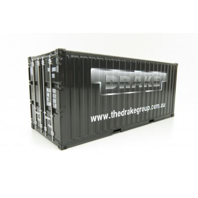 Drake Collectibles Z0C20001 - 20 ft Sea Container - Drake Group - Scale 1:50
