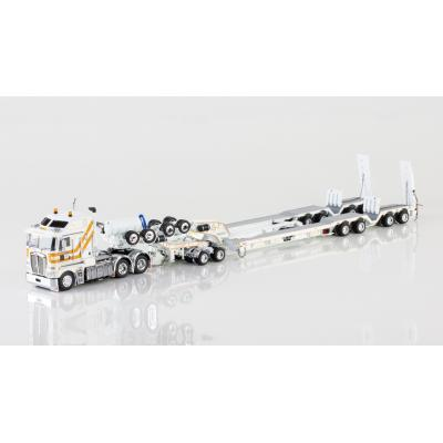 Drake ZT09050 AUSTRALIAN K200 Prime Mover with Drake 2x8 Dolly and 4x8 Trailer Central Queensland Heavy Haulage - Scale 1:50