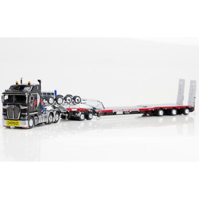 Drake ZT09040 AUSTRALIAN K200 Prime Mover with Drake 2x8 Dolly and 3x8 Swingwing Trailer National Heavy Haulage NHH - Scale 1:50
