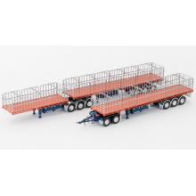 Drake ZT09131 & ZT09145 Maxitrans Freighter B Double & Road Train Trailer Set Drake Trailers QLD - Scale 1:50
