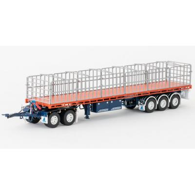 Drake ZT09145 AUSTRALIAN Maxitrans Freighter Trailer & Dolly Road Train Set Drake Trailers - Scale 1:50