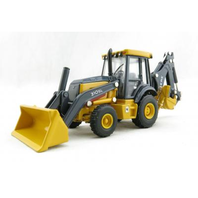 ERTL 45561 - John Deere 310 SL Backhoe Loader Prestige Collection - Scale 1:50