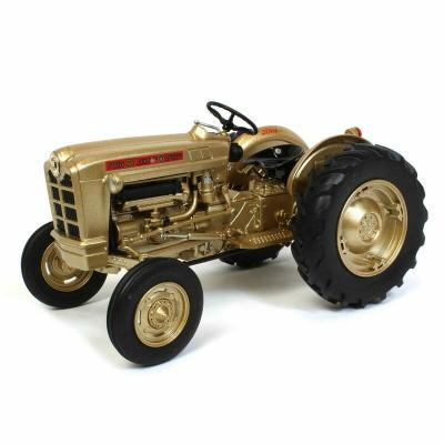Ertl 13937 - Ford 881 Tractor Gold Demonstrator NFTM - Prestige Collection - Scale 1:16