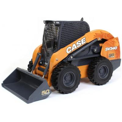 Ertl 44198 - Case Construction SV340 Skid Steer Loader - 50th Anniversary Edition - Scale 1:16
