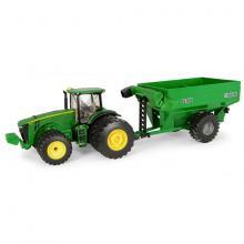 Ertl 45482 - John Deere 8260R Tractor with Frontier GC 1108 Grain Cart -Scale 1:32