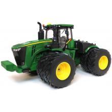 Ertl 45508 - John Deere 9620R 4WD Articulated Tractor with Doubles - Prestige Collection - Scale 1:16