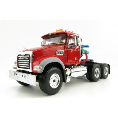 First Gear 50-3117C Mack Granite MP Day Cab 6x4 Prime Mover Red Scale 1:50