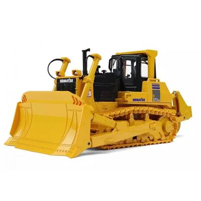 First Gear 50-3341 Komatsu D275AX-5 Dozer with Sigma Blade and Ripper Scale 1:50