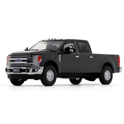 First Gear 50-3416 - Ford Super Duty F-250 Crew Cab Pickup in Magnetic Metallic - Scale 1:50