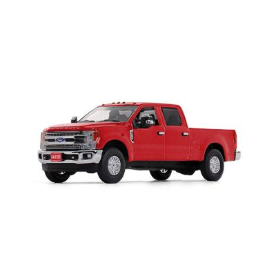First Gear 50-3419 - Ford Super Duty F-250 Crew Cab Pickup in Race Red - Scale 1:50