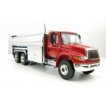 First Gear 50-3433 International DuraStar Liquid Fuel Tanker Viper Red Chrome - Scale 1:50