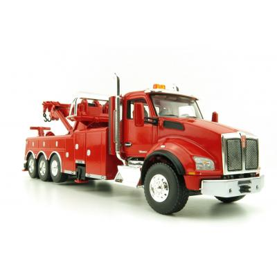 First Gear 50-3465 Kenworth T880 Truck with Century 1060 Rotator Wrecker Viper Red Scale 1:50