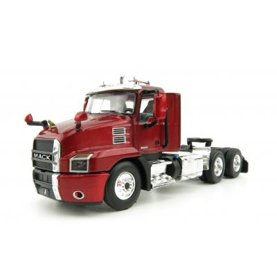 First Gear 60-0407 Mack Anthem Day Cab Truck Lacquer Red  - Scale 1:64