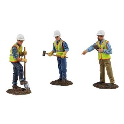 First Gear 90-0481 Diecast Metal Construction Worker Figures Set No.2 Scale 1:50