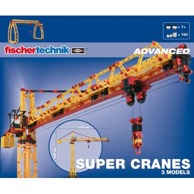 Fischertechnik 41862 - Advanced Super Cranes - 780 pieces 3 Models