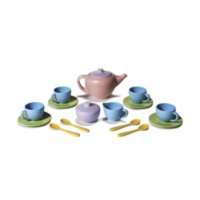 Green Toys - Tea Set 17 pieces (eco-friendly)