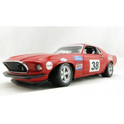 DDA ACME 1801828 1969 Ford Boss 302 Trans Am Mustang Alan Moffat Racing No 38 Coca Cola - Scale 1:18