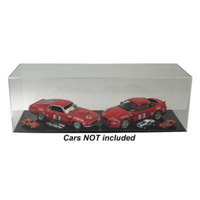 DDA - Acrylic Display Show Case 60cm L x 21cm W x 19.5 H Suits 1:12, 1:18, 1:24, 1:43, 1:32, 1:64, 1:50