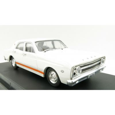DDA Collectibles - 1967 Ford Falcon XR GT Car - Avis White - Scale 1:43