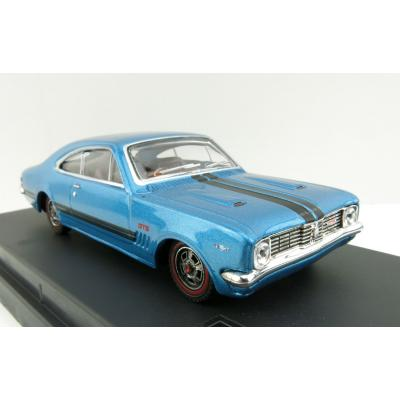 DDA Collectibles - 1969 Holden HT Monaro GTS - Monza Blue - Scale 1:43