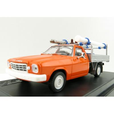 DDA Collectibles - 1971 Holden HQ One Tonner Ute - Lone O Ranger Orange - Scale 1:43
