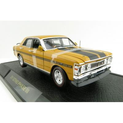 DDA Collectibles -  Ford  Falcon XY GTHO 1971 - Yellow Ochre  - Scale 1:32