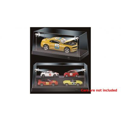 DDA Display Case Box Show Case with LED Light Black Models Scale 1:24 1:32 1:43 1:50 1:64