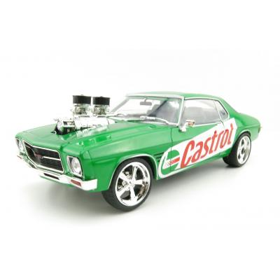 DDA GreenLight DDA205 Castrol Hanful 1973 Holden Monaro HQ GTS Custom Green Scale 1:24