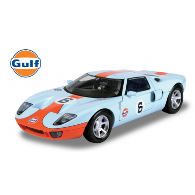 Motormax 79639 - Ford GT Concept - Gulf Collection - 1:12 Scale