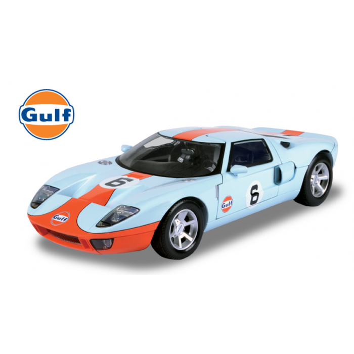 MotorMax 1:24 The GULF Oil Racing Livery Different Diecast Model Cars