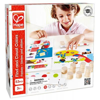 Hape - Find And Count Colours Learning Game