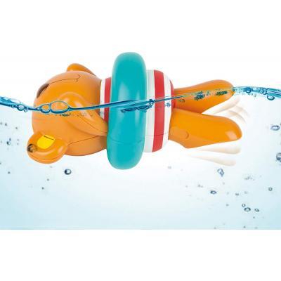 Hape Kids Little Splashers Swimmer Teddy Wind-Up Toy - Bath Toy