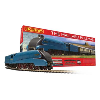 HORNBY R1202 MALLARD PULLMAN ELECTRIC SET OO GAUGE STEAM LOCO DCC READY