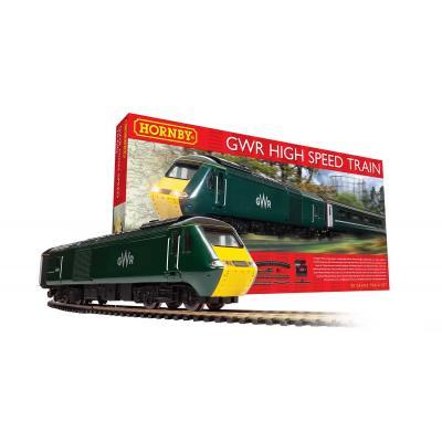 HORNBY R1230S GWR Class 43 High Speed Train Starter Set - OO GAUGE DCC READY