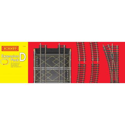 HORNBY R8224 Track Extension Pack D - OO GAUGE