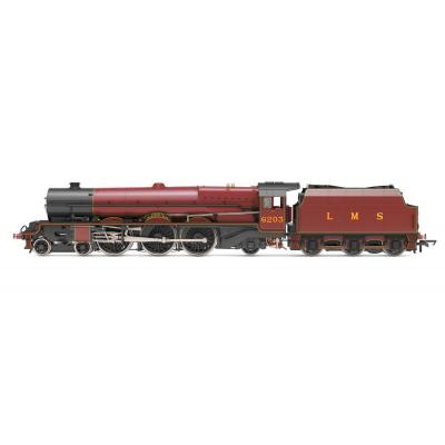 Hornby R30001X LMS Princess Royal 4-6-2 6203 Princess Margaret Rose with flickering firebox Digital DCC Fitted OO Scale